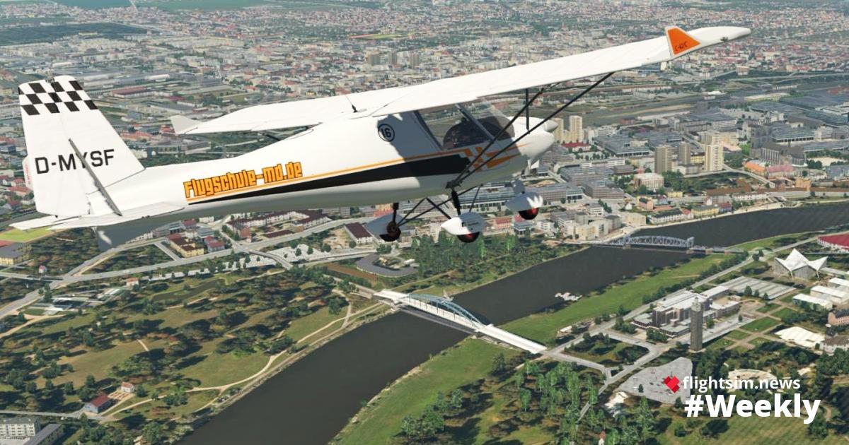 flightsim.news Weekly - Comco Ikarus C42 by vFlyteAir announced