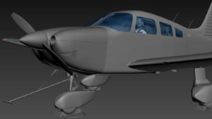 Just Flight announcement of the Piper PA-28 Archer III