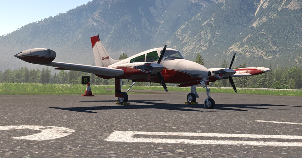 Digital Replica Cessna 310L Image 2
