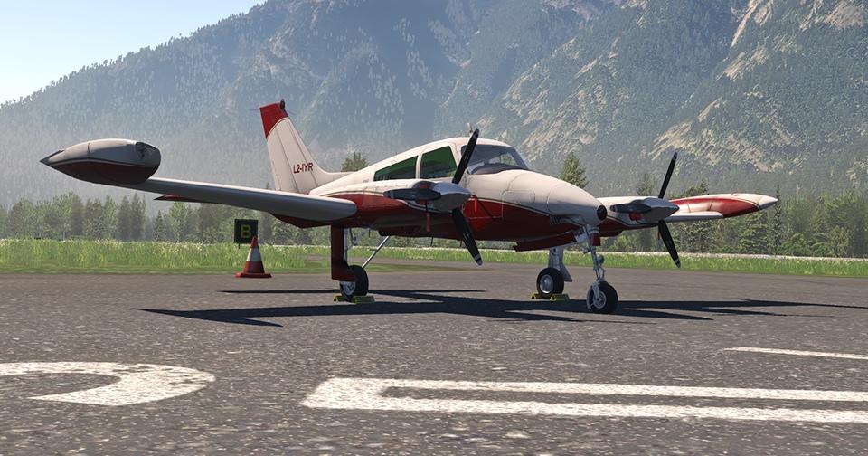 Digital Replica Cessna 310L Image 2