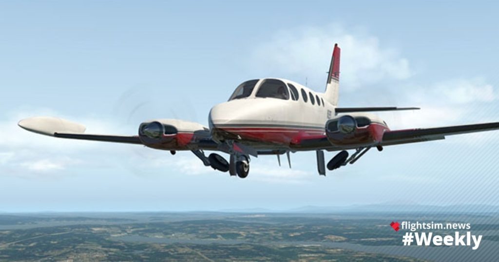 Carenado Cessna C340 II